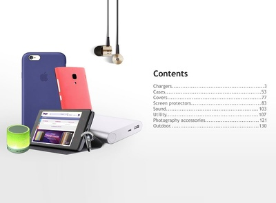 Product Manual / Catalog - Made in Norway with free facebook banner design