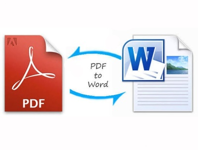 Convert a word file to pdf, or replicate pdf files in word format beautifully