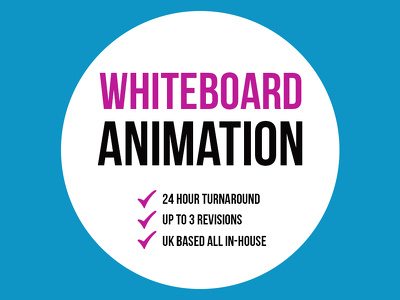Professional Whiteboard Explainer + 24 Hour Turnaround + UK Based