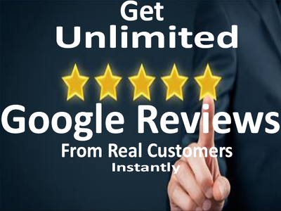 Give you real Google Reviews from customers instantly for Google My Business