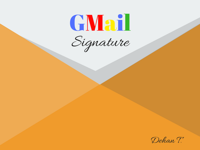 Design a Professional  Hyperlink Gmail Signature with Footer for Your Company