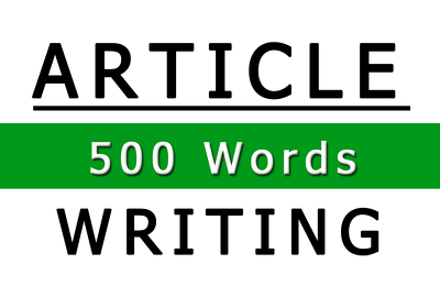 Write a unique, interesting and informative 500-word SEO article / blog post