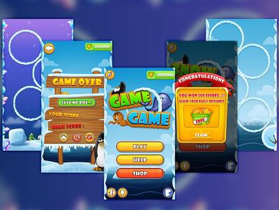 Design full game graphics