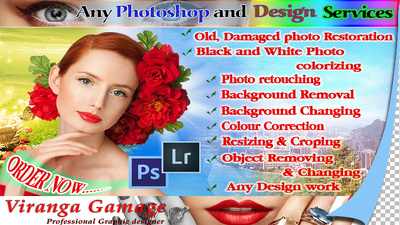 Do any Photoshop work for $10