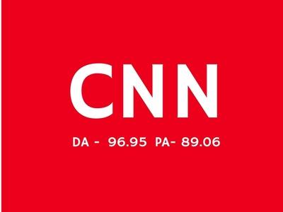 Bring Backlinks from world powerful CNN  DA -  96.95 PA- 89.06