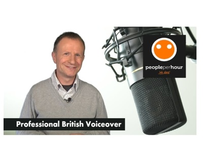 Record a professional British Male BBC style voice over / voiceover