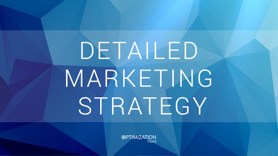 Create an impeccable Marketing Strategy for you