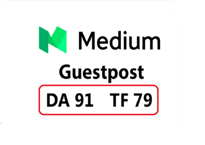 Do a Strong Guest Post on Medium - DA91 TF79