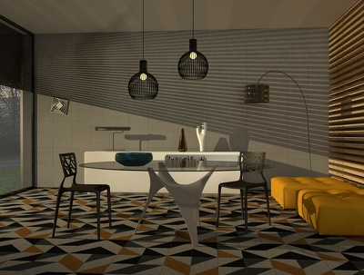 Get you a rendering about a room of your home (living room, bedroom, kitchen...)