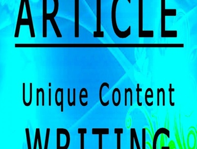 Do SEO article writing, content writing or blog writing up to 500 words