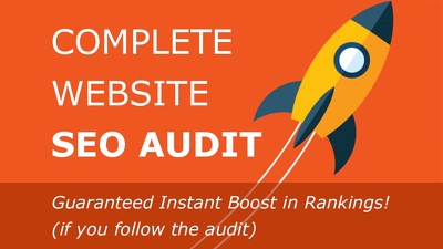 Do a Detailed High Level SEO Audit for You (7 modules included)