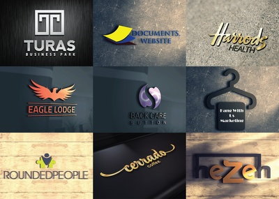 Create bespoke 9 Logo concepts & infinite revisions+Source Files