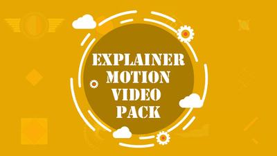 Explainer Motion Video Pack