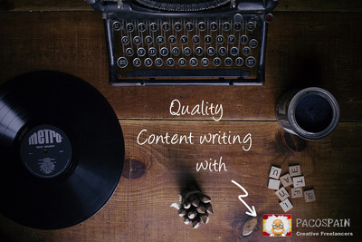 Create quality web content
