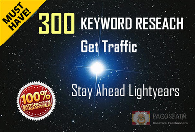 Do Keywords Research, 300 profitable key words