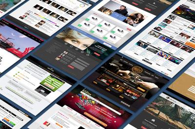 Develop a classy Wordpress website.