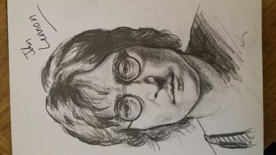 Do a portrait (head/shoulders)