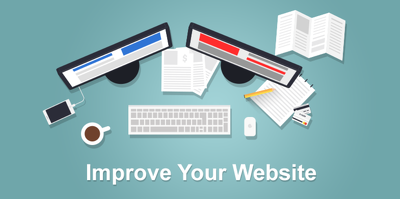 Professional website review and tips on how to improve your website.
