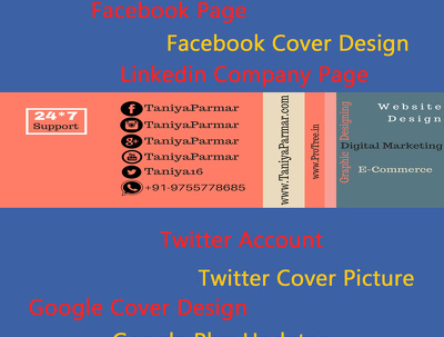 Manage All Social Media Account 5 days Facebook,Twitter,Instagram,LinkedIn,Google+