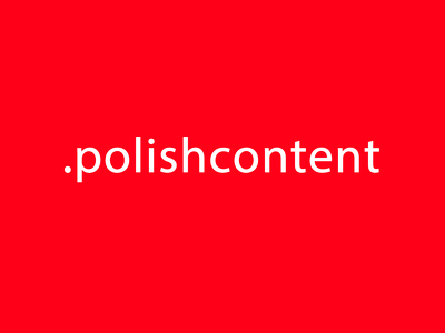 I will run your blog in Polish language for a month