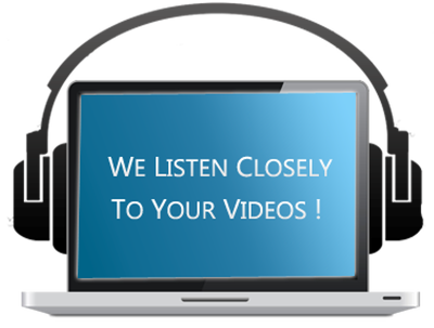 Transcribe 10 min Audio or Video in 24 hrs