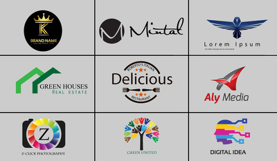 Design logo, business card, or any related work with 100% quality.contact me for info