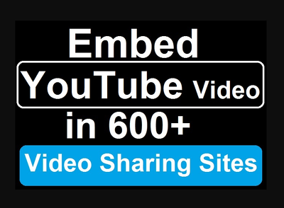 Embed YouTube video to improve seo & ranking