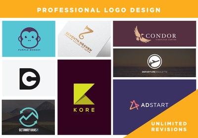 Design a perfect bespoke logo + Unlimited revisions