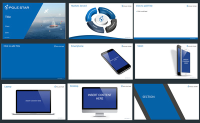 design a sleek, modern, professional corporate powerpoint template