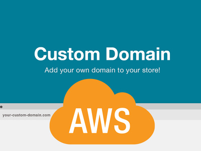 Integrate your AWS instance with custom domain