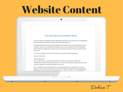 Write your website or blog article: 300-600 words on any topic