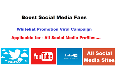 Promote relevant audience and create new Fanbase for social media profiles