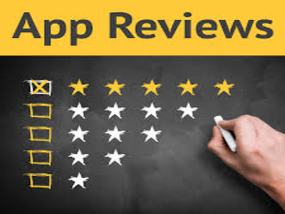 Give 100 IOS/Android app reviews