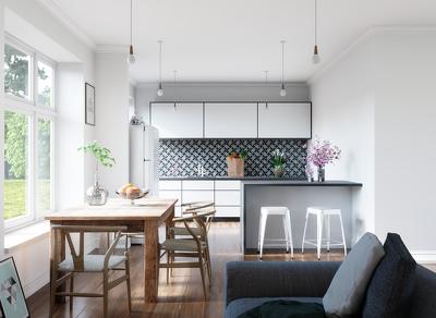 Create realistic interior renderings