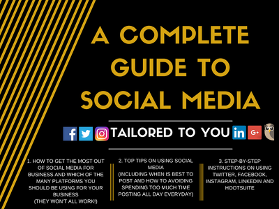 Social Media Guide/Tutorial (Tailored to you)