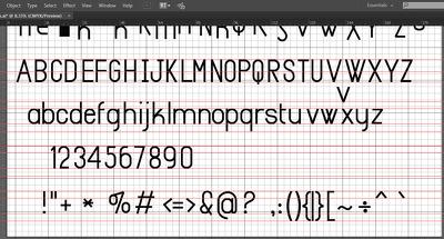 New font design and developed  OTF/TTF file