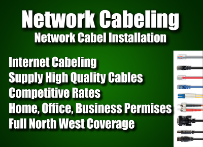 Install Network Cables in your House / Office / Business Permises