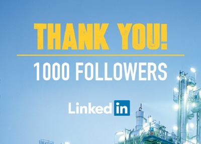 Add 1,000 LinkedIn followers to your LinkedIn company page