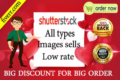 Sell any shutterstock or stock images low cost