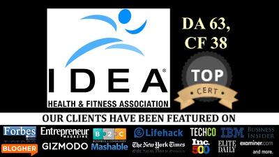 Write and publish a guest post on Ideafit Ideafit.com DA 63 Health & Fitness niche