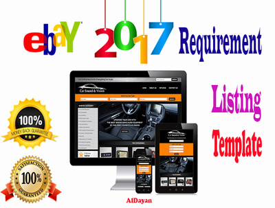 Do 2017 Responsive And Custom eBay Listing Template