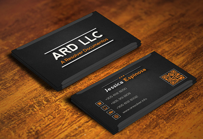 Develop professional Business card.