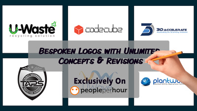 Bespoken Logos with Unlimited Concepts and Revisions