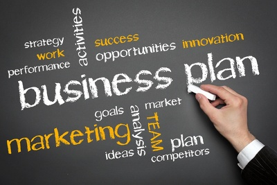 Business Plan for start-ups or existing businesses with 12 month financial forecast