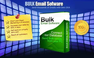 I'll provide you Unlimited Bulk email SENDER Interspire