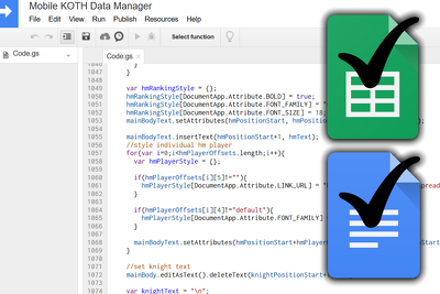 Write any custom script for your Google Sheets