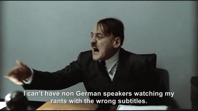 Produce subtitles for your 10 min video in German (from English)