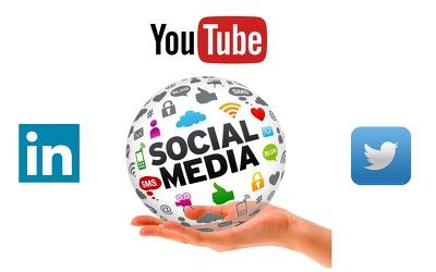 Twitter followers / youtube views / social media fans / linkedin fans - 3000 fans