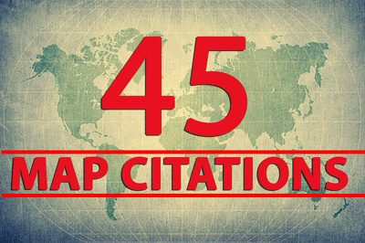 Create 45 Map Citations For Google Local Page And Website