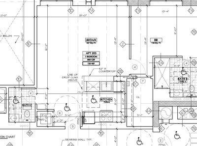 Draw a sketch of a house in AutoCAD based on needs and space